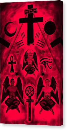 Revelation 666 Canvas Print by Kenal Louis