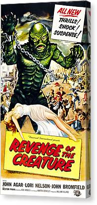 Revenge Of The Creature, As The Gill Canvas Print by Everett