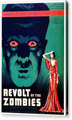 Revolt Of The Zombies, 1936 Canvas Print by Everett