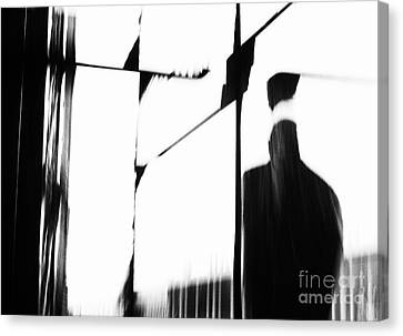 Revolving Doors Canvas Print by Andy Prendy