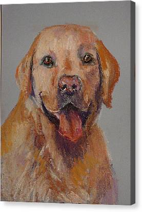Canvas Print featuring the painting Rex  by Carol Berning