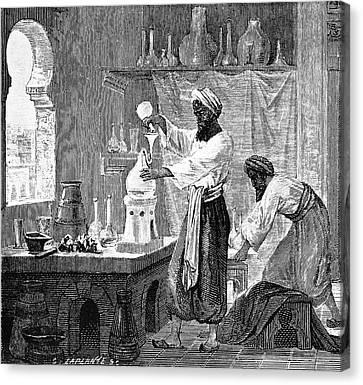 Baghdad Canvas Print - Rhazes, Islamic Scholar by