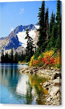 Rhor Lake Canvas Print