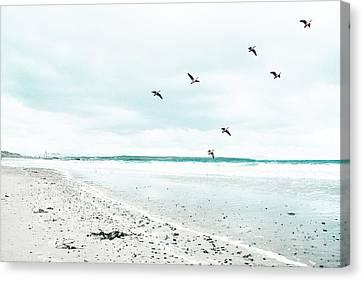 Rhosneigr Beach Canvas Print by Georgia Fowler