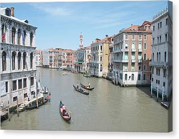 Rialto View Canvas Print by A Goadby