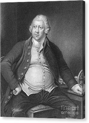 Richard Arkwright, English Industrialist Canvas Print by Photo Researchers