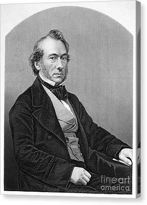Richard Cobden (1804-1865). /nenglish Politician And Economist. Steel Engraving, English, 19th Century Canvas Print by Granger