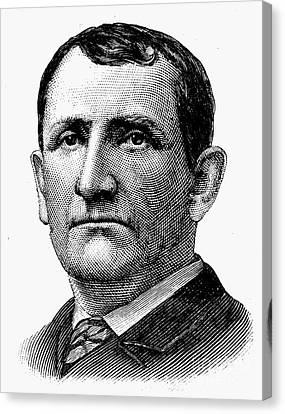 Richard Henry Pratt Canvas Print by Granger