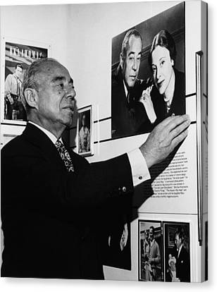 Richard Rodgers 1902-1979, American Canvas Print by Everett