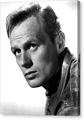 Richard Widmark, Late 1940s Canvas Print by Everett