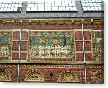 Rijksmuseum- 01 Canvas Print by Gregory Dyer