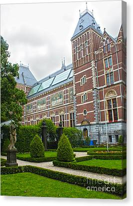 Rijksmuseum- 02 Canvas Print by Gregory Dyer