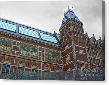 Rijksmuseum- 03 Canvas Print by Gregory Dyer