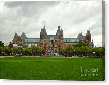 Rijksmuseum- 04 Canvas Print by Gregory Dyer