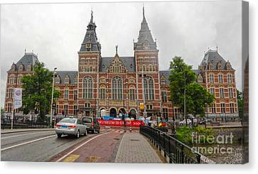 Rijksmuseum- 06 Canvas Print by Gregory Dyer