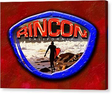 Rincon Logo Canvas Print
