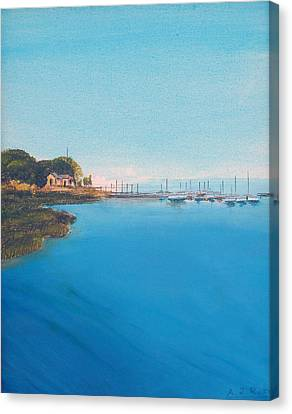 Rings Island Canvas Print