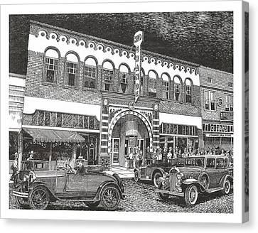 Rio Grande Theater Canvas Print by Jack Pumphrey