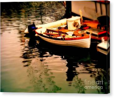 Ripples And Reflections Canvas Print by Kevin Moore