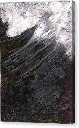 Undertow Canvas Print - Rise by Al Goldfarb