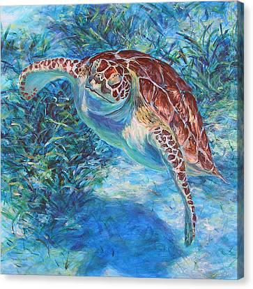 Rise Canvas Print by Li Newton