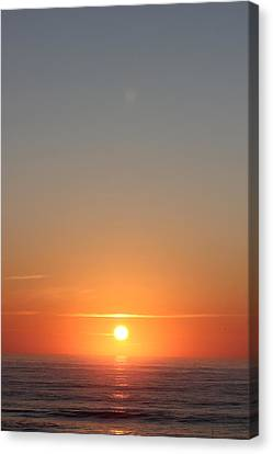 Rising Of The Sun Canvas Print by Static Studios