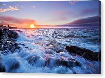 Rising Tide Canvas Print by Mircea Costina Photography