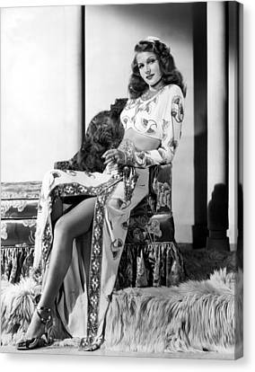 Rita Hayworth, Columbia Pictures, 1946 Canvas Print by Everett