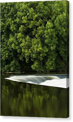 River Boyne, County Meath, Ireland Canvas Print by Peter McCabe
