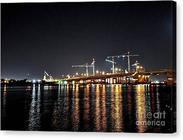 River City Canvas Print by Eric Grissom