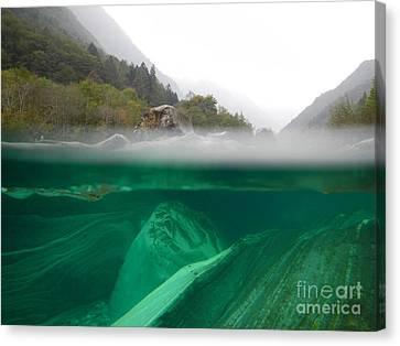 River Canvas Print by Mats Silvan