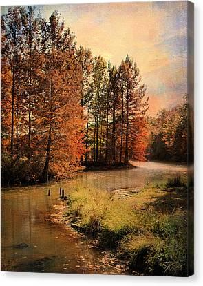 River Of Hope Canvas Print by Jai Johnson