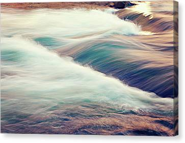 River Rapids Canvas Print by Isabelle Lafrance Photography