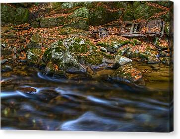 River Rust Canvas Print by Mike Horvath