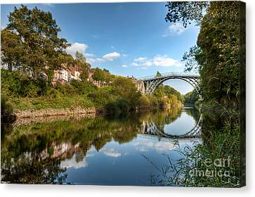 River Severn Canvas Print by Adrian Evans