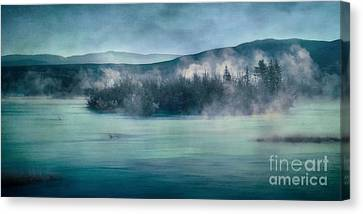 Riverscape Canvas Print - River Song by Priska Wettstein