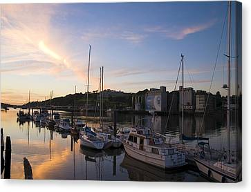 River Suir, From Millenium Plaza Canvas Print by The Irish Image Collection