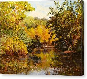 River's Bend Canvas Print