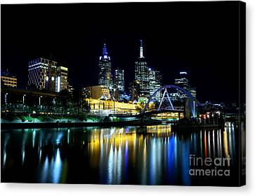 Riverside Canvas Print by Andrew Paranavitana