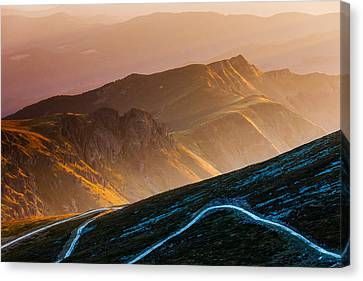 Road To Middle Earth Canvas Print