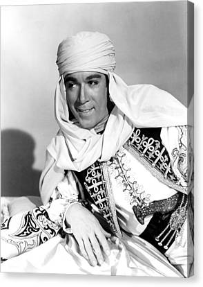 Road To Morocco, Anthony Quinn, 1942 Canvas Print by Everett
