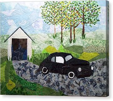 Road Trip Canvas Print by Charlene White