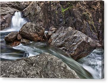 Roaring River Falls Canvas Print