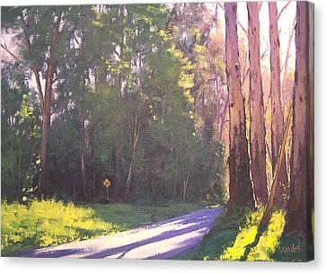 Gum Trees Canvas Print - Roaside Gums by Graham Gercken