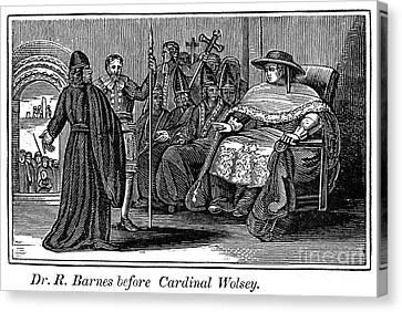 Robert Barnes (1495-1540) Canvas Print by Granger