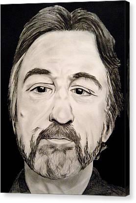Robert Deniro Canvas Print by Victoria Dietz