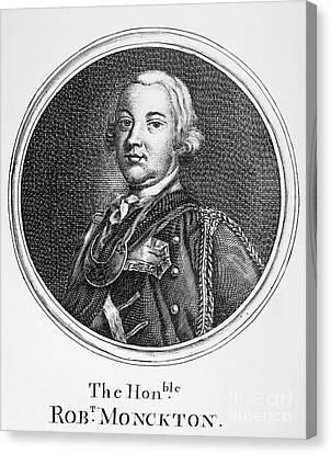 Robert Monckton (1726-1782) Canvas Print by Granger