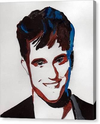 Robert Pattinson 7 Canvas Print
