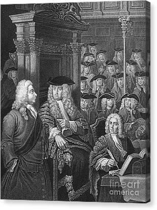 Robert Walpole (1676-1745) Canvas Print by Granger