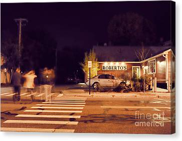 Roberto Canvas Print - Roberto's  by HD Connelly